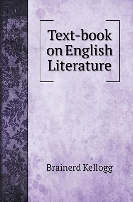Text-book on English Literature