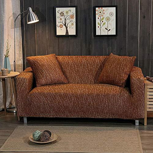 Stretch Velvet Optic Couch Cover,Strick-Stretch-Sofabezug, Rutschfester Kissenbezug, Möbelschutzbezug, universelles Antifouling-Pad für alle Jahreszeiten - Farbe 15_190-230 cm