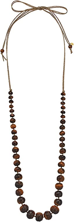 Chan Luu - Tiger's Eye Adjustable Statement Necklace