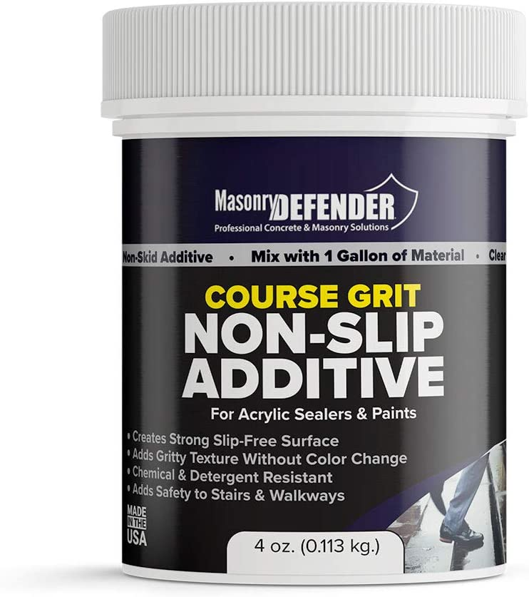 Coarse Grit Clear Anti Slip Paint Floor Grip Additive for Acryl Al Max 81% OFF sold out.