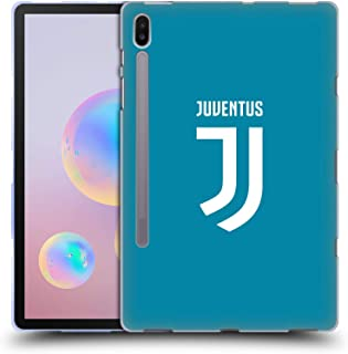 Official Juventus Football Club Home Goalkeeper 2017/18 Race Kit Soft Gel Case Compatible for Samsung Galaxy Tab S6 (2019)