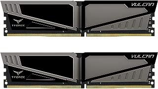 TEAMGROUP Team Vulcan 16GB (2 x 8GB) 288-Pin DDR4 SDRAM DDR4 2400 (PC4 19200) Desktop Memory Model TLGD416G2400HC14DC01