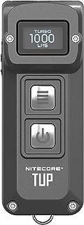 NITECORE Tup-Gry Nitecore FL-NITE-Tup-GY Gray Rechargeable LED Keychain Flashlight Light, Gray