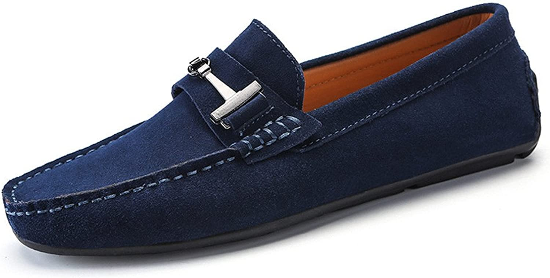 LLR Drive Loafers mocka Genuine läder Penny Penny Penny Mockasines Studs Sole s with Metal Button Decor Business skor  välj från de senaste varumärkena som
