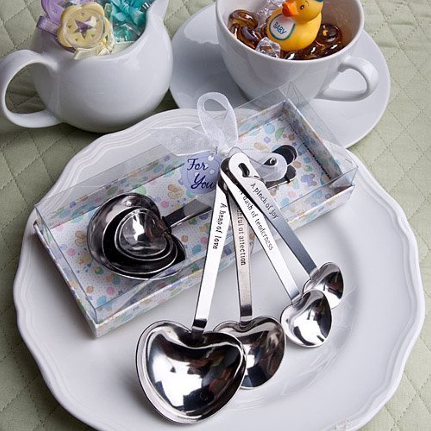 Baby-Themed Measuring Spoons   package of 36 by Fashioncraft