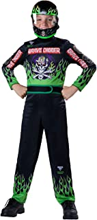 Fun World Monster Jam Grave Digger Costume, Size 12/X-Large