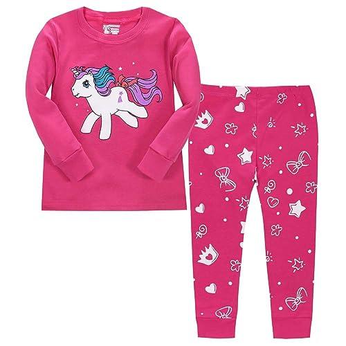 ad6c06468 Children s Unicorn Pyjamas  Amazon.co.uk