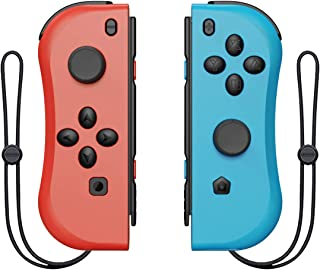 Geekper Wireless Joy Pad Controller for Switch, L/R Joy-Con Pad Replacement for Nintendo Switch Controllers, Wired/Wireles...