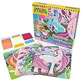 Stick Mosaics - Kit de création de licornes de mosaïques collantes