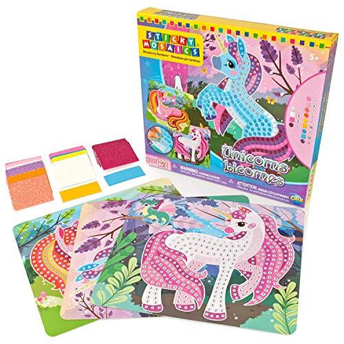 Sticky Mosaics Unicorns Bastelset