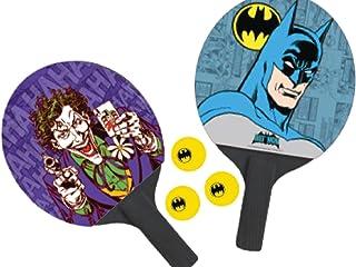 Par de Raquetes de Ping-Pong + 3 Bolas Joker & Batman. The Face (P55) Bel Fix