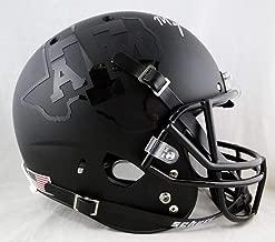 Myles Garrett Autographed F/S Texas A&M Black Schutt Helmet- JSA W Auth White