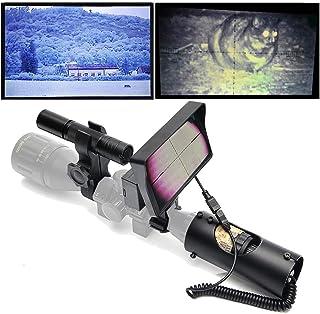 8c9f37e4ea SIHEE Lunette de Vision Nocturne numérique DIY pour la Chasse au Fusil avec  caméra HD et