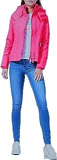 Women's Technical Hooded Pop Zip Windcheater Jacket