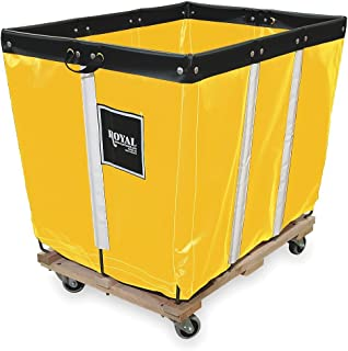 Basket Truck, 10 Bu. Cap., Yellow, 36 In. L