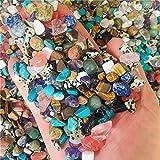 ZXCZXC Cristal Natural Circlado Piedras Preciosas Mezclas Mezclas Natural RAYAL Color CURANTE Roca Mineral DE Mineral DE LA COLECCIÓN del Regalo DE Regalo DE Regalo DE CASA100G (Size : 100g)