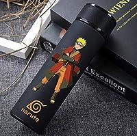 ナルト-忍者テーマ漫画ステンレス魔法瓶クリエイティブポータブルウォーターボトル (ナルトうずまき)