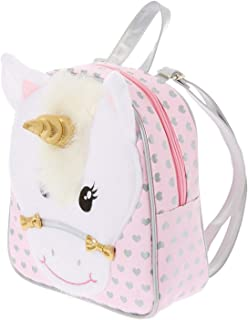 Claire's Club Girl's Claire's Club Ariella the Unicorn Backpack - Pink - M