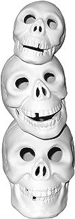Skull-O-Stack Light up Skulls - Paint Your Own Eerie Ceramic Keepsake