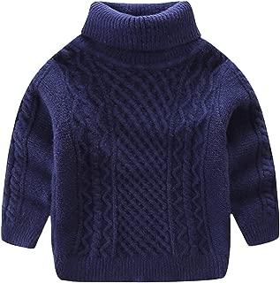 Super Soft Boys Turtleneck Sweaters