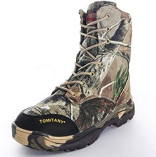 13e0d38837b LiliChan Outdoor High-Top da Uomo Allacciatura Impermeabile Stivali da  Trekking Tattici Camuffamento da Caccia