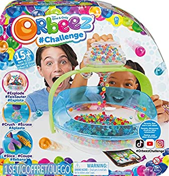 Orbeez Challenge The One and Only 2000 Non-Toxic Water Beads Includes 6 Tools and Storage Sensory Toy for Kids Aged 5 and Up