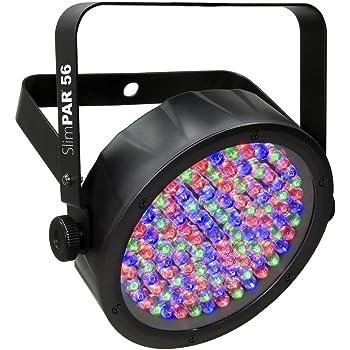 CHAUVET DJ SlimPAR 56 LED PAR Can Wash Light w/Built-In and Sound Activated Modes