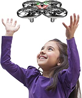 Mini Drone Flying Toy RC Drones for Kids or Adults, Hands Free Operated UFO RTF Helicopter Plane, Easy Indoor Outdoor Flying Ball Drone Toys for Boys Girls