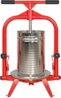 MacIntosh Fruit Press 5 Gallon + Stainless Basket