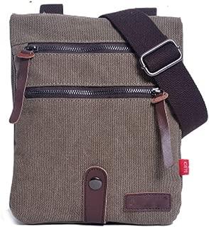 Mens Bag Spring And Summer New Shoulder Bag Canvas Bag Small Men's Bag Double Special Dual-use Small Bag High capacity