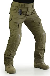 ZAPT Tactical Pants with Knee Pads Airsoft Camping Hiking...