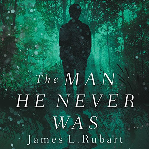 The Man He Never Was audiobook cover art