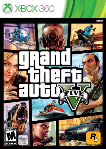 Grand Theft Auto V – Xbox 360 – Standard Edition