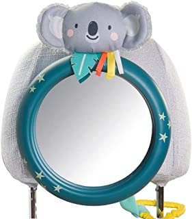 Taf Toys Koala Driver's Baby Mirror for Back Seat View of Rear Facing Baby in Backseat Enables Easier Drive and Easier Par...