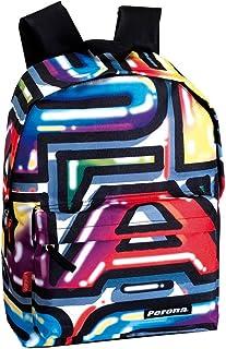 Perona 51664 2017 Mochila Escolar, 42 cm, Multicolor