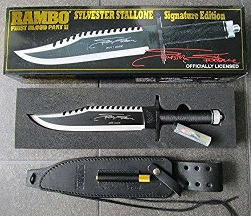 RAMBO 2 - First Blood Part II Messer - lim. Signature Edition (Sylvester Stallone) in der großen