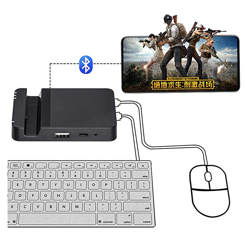 Mobile Fps Game Helper Keyboard Mouse Extension Converter Adapter Dock Android System