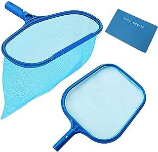 Rongbo Deep-Bag Pool Rake & Swimming Leaf Skimmer Net with Medium Fine Mesh,Fits Most..