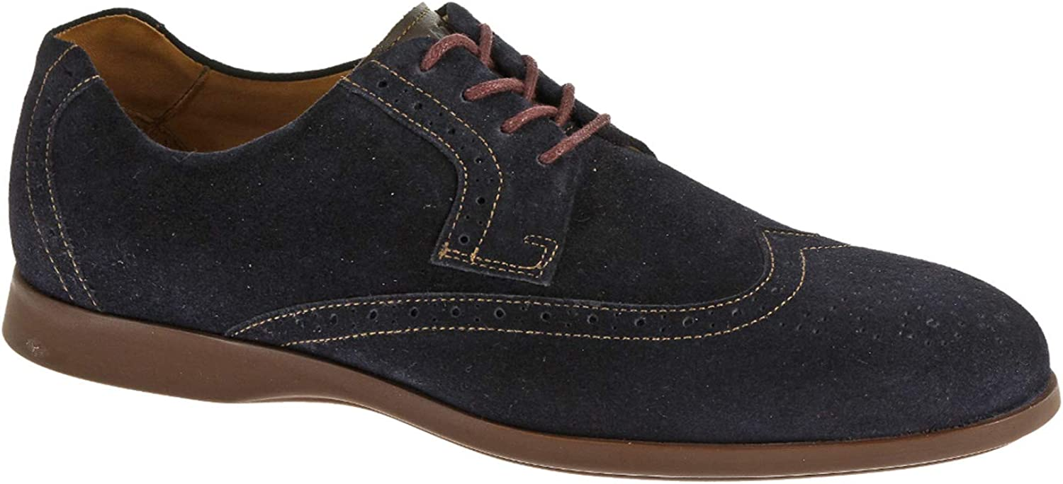 Sebago Men's Teague Wing Tip Oxford Shoes Navy in Size US 11.5 Wide
