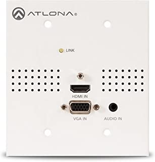 Atlona AT-HDVS-TX-WP-NB | Blank Face Plate for HDVS Series Wall Plate Switchers