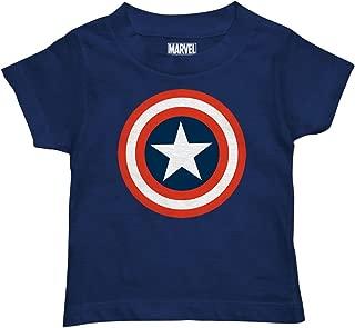 Marvel Boys' Captain America T-Shirt