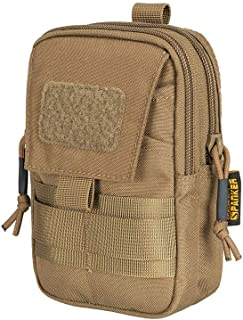EXCELLENT ELITE SPANKER Tactical Molle EDC Pouch Nylon Waist Pack Camping Hiking Pocket Organizer