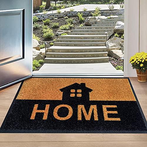 Welcome Mats - Absorbing Indoor Mat - Stylish Rugs for Entryway - Durable Indoor Door Mat - 30x18 Front Door Mat Indoor - Door Mat - Doormat