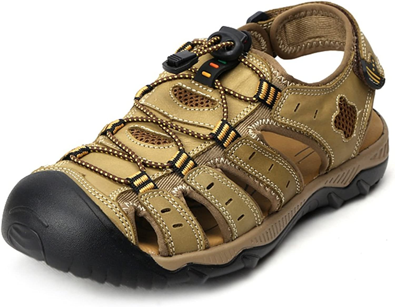 FEI Mules Men's Sports Outdoor Walking Sandals Close Toe Strap Trekking shoes Sandals Casual (color   C, Size   EU38 UK5.5 CN38)