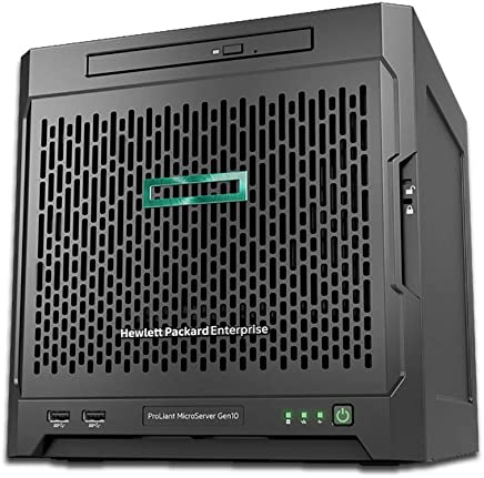 HPE ProLiant MicroServer Gen10 NAS Server for Business, AMD Opteron X3421,  32GB RAM, 16TB Storage, RAID, FreeNAS OS, 3 Year Warranty