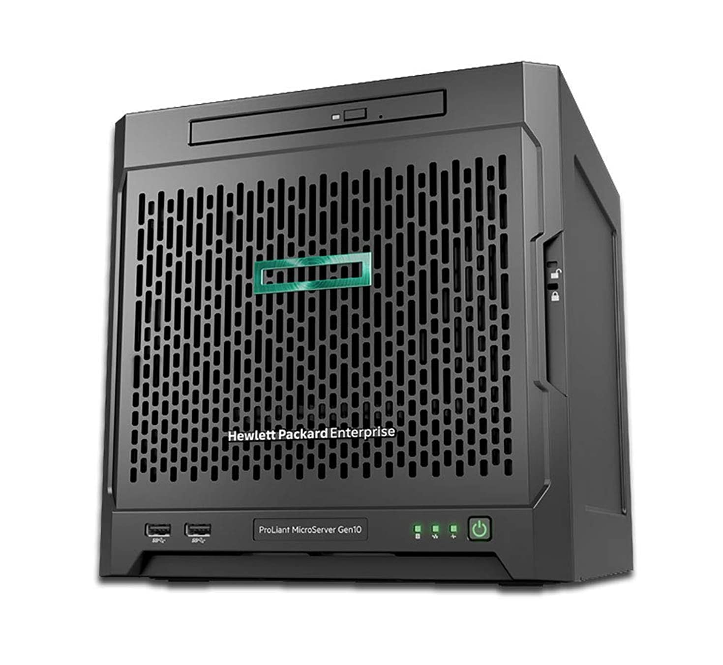 HP ProLiant MicroServer Gen10 NAS Server for Business, AMD Opteron X3421, 32GB RAM, 16TB Storage, RAID, FreeNAS OS, 3 Year Warranty