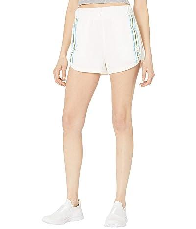 FP Movement Grand Slam Shorts Striped (White Combo) Women
