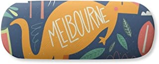 Melbourne Australia Kangaroo Tennis Surfing Gl Case Eyegl Hard Shell Storage Spectacle Box