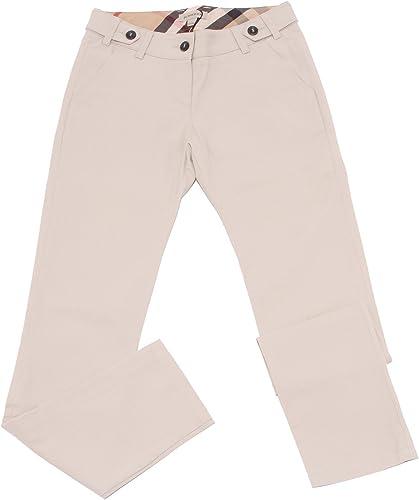 BURBERRY 4080U Pantalone Bimba Beige Pant Trouser Enfant Girl