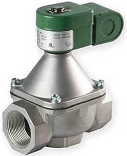 110V//50 Hz 1//4 Pipe Size 9//32 Orifice ASCO Valve Inc 0.88 Cv Flow 1//4 Pipe Size 2-Way Normally Closed 9//32 Orifice PTFE Sealing 22104 120V//60 Hz ASCO 8262H210LT-120//60,110//50 Brass Body Direct Acting//Pilot Operated Cryogenic Valve
